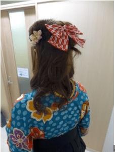 卒業式袴に合う髪型3