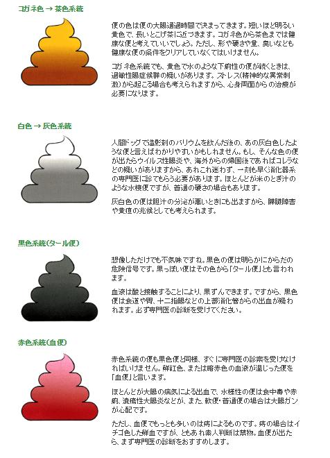 便の色診断
