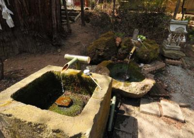 磐椅神社 宝の水