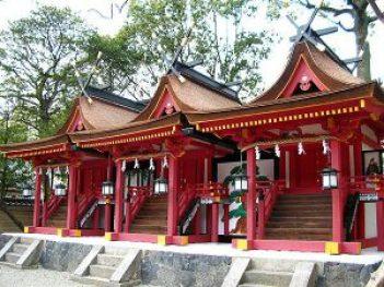 率川神社スポット