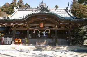 筑波山神社スポット