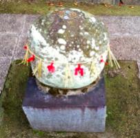 冠纓神社 女石