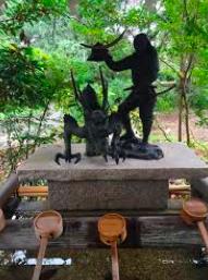 青葉神社伊達政宗像
