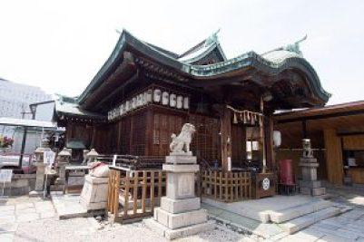 素盞男神社 拝殿
