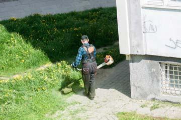 大野城市 一軒家 庭の草刈り|えびす造園