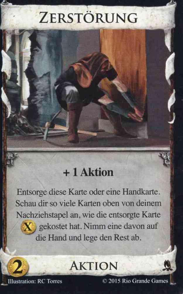 Dominion Abtenteuer Zerstörung