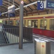 Berlin - Bellevue S Bahn