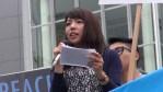 【シリーズ戦争法案とは】6月27日若い女性ミキさんの渋谷ハチ公前デモでの戦争法案反対スピーチ。「アフガニスタンで見た戦争のリアル」