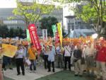 7月25日・26日全国各地の戦争法案反対デモの模様