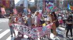【大成功!】ママの渋谷ジャック!炎天下の中2000人のママさんが子連れで参加!