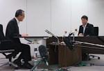 泉田新潟知事と田中原子力規制委員長が初会談「一番会いたくない相手と とうとう 会うハメに・・」