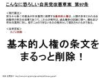 【改憲前夜の今だから・・】死んでも見たい!「6分でわかる自民党が憲法改正した後のスゴイ日本」アニメ動画