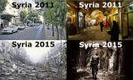 【必見】シリアの数年前と現在を定点撮影した写真が衝撃的過ぎる!
