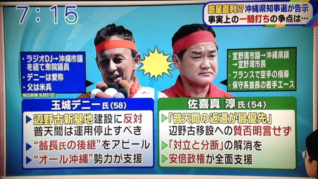 2018/09/17(月)プチニュース「【どうすれば?】沖縄知事選は自公の組織力が勝りそうな展開」など
