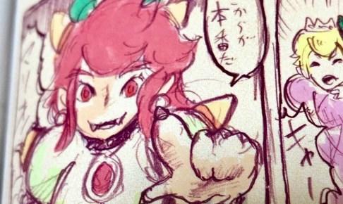 任天堂公式クッパ姫ワッパピーチ