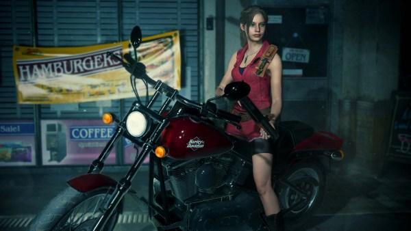 バイオ2リメイク クレア バイク
