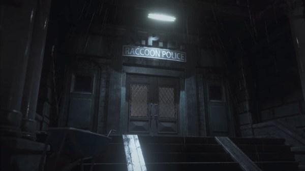 バイオ2リメイク警察署の扉