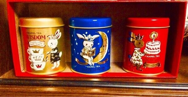 カレルチャペック30周年記念紅茶