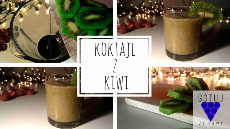 Zielony koktajl z kiwi i liczi[PRZEPIS]