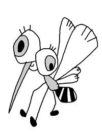 蚊イラスト