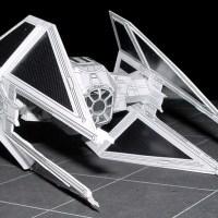 Modelo de papel del TIE Interceptor