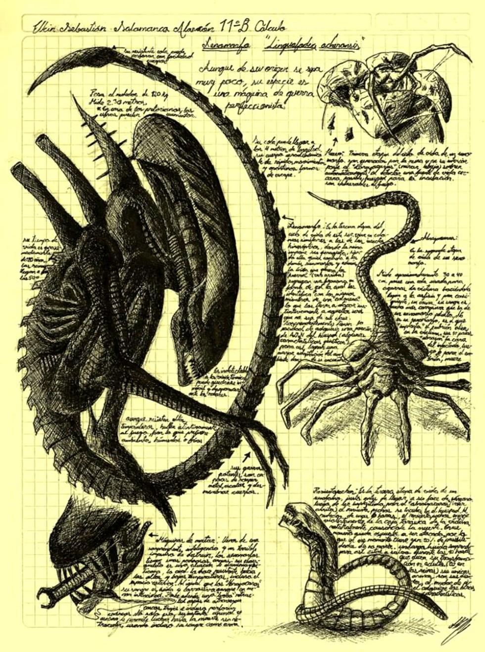 evolucion-alien-cuaderno-secreto-darwin