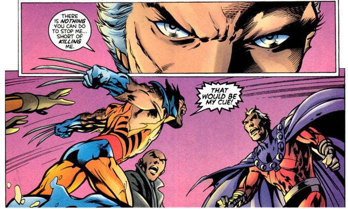 Wolverine vs Magneto