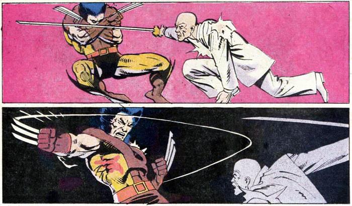 Wolverine vs Shingen Yashida