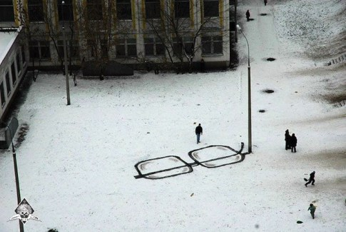 arte callejero, por pavel puhov