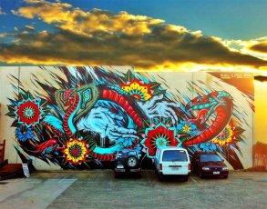 graffiti en melbourne, australia