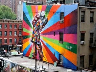 mural de kobra, nueva york
