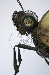 escultura mariposa steampunk