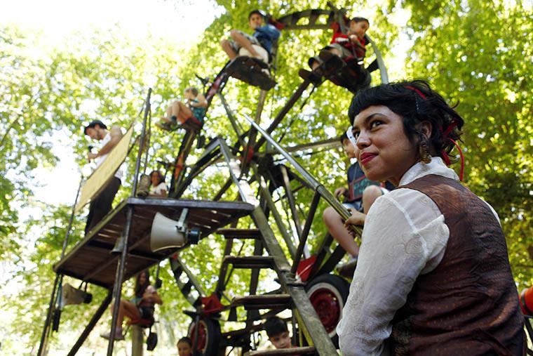 Inauguraci—n del la XXI versi—n del Festival Internacional Santiago a Mil.