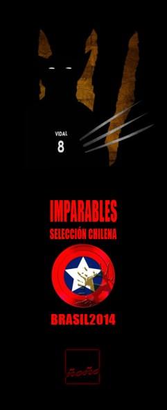 rey-arturo-vidal-wolverine-seleccion-chile