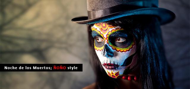disfraz-noche-muertos-halloween-calavera-mexicana