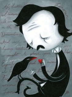 ilustracion-edgar-allan-poe-cuervo-hillgrove