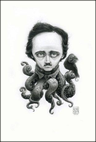 ilustracion-edgar-allan-poe-estilo-lovecraft-athen