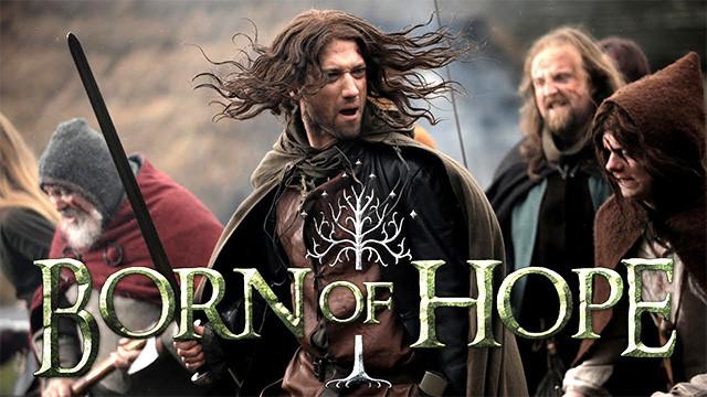 fan-art-LotR-born-hope-señor-anillos