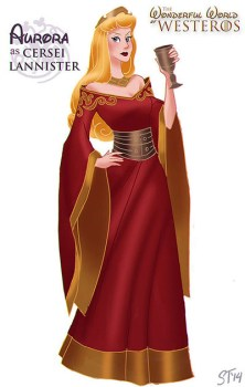 aurora-bella-durmiente-disney-cersei-lannister-game-of-thrones