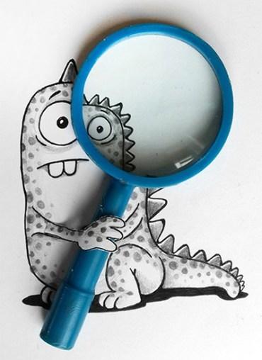 caricatura-dinosaurio-lupa-real-manik-n-ratan