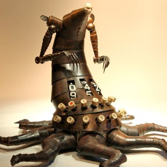 escultura-bio-mecanica-contador-pulpo-Greg-Brotherton