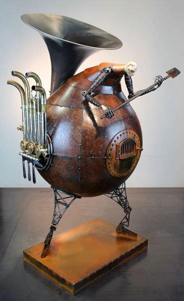 escultura-bio-mecanica-horno-tuba-Greg-Brotherton