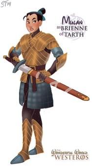 mulan-disney-brienne-of-tarth-game-of-thrones