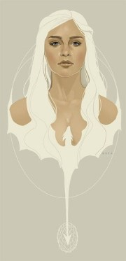 daenerys-targaryen-madre-dragones-game-of-thrones-fan-art-poster
