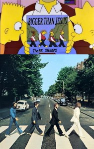 simpson-beatles-lp-disco-abbey-road