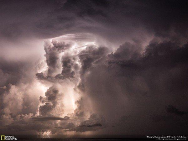 Sabes que una tormenta te espera cuando...
