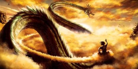 Dragon Ball - Goku y Shenlong