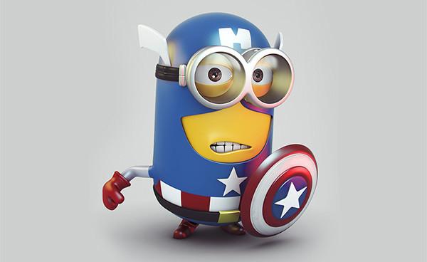 capitan-america-minion