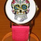 reloj-pulsera-calavera-mexicana-rosado-4