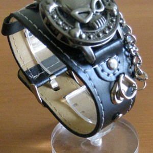reloj-pulsera-punk-rockero-calavera-0